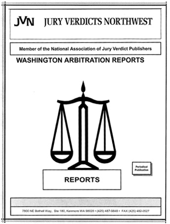 Washington Arbitration Reports Semi-Annual Index